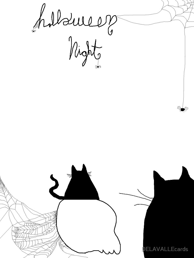 Halloween Night by DELAVALLEcards