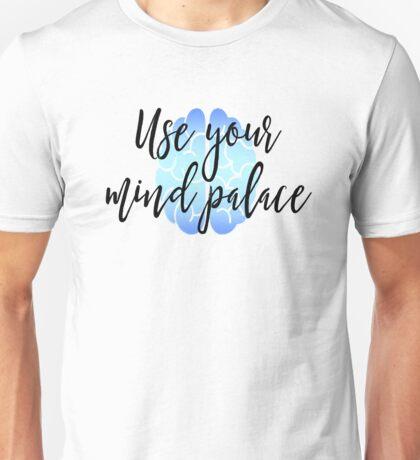 Sherlock - Use your mind palace Unisex T-Shirt