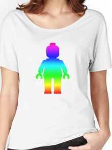 Minifig [Rainbow 1]  Women's Relaxed Fit T-Shirt