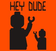 Minifig Hey Dude Kids Tee