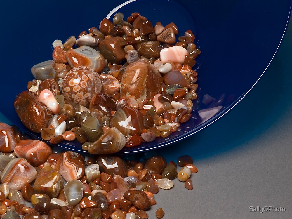 Polished Agates by SallyOPhoto