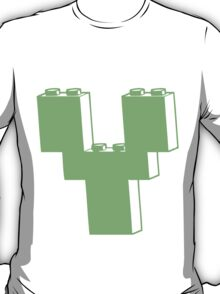 THE LETTER Y by Customize My Minifig T-Shirt