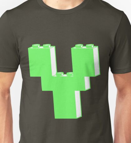 THE LETTER Y by Customize My Minifig Unisex T-Shirt