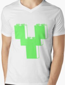 THE LETTER Y by Customize My Minifig Mens V-Neck T-Shirt