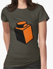 1 x 1 Brick  Womens Fitted T-Shirt