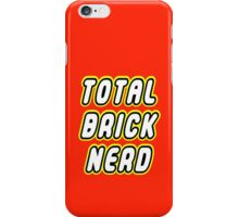 TOTAL BRICK NERD iPhone Case/Skin