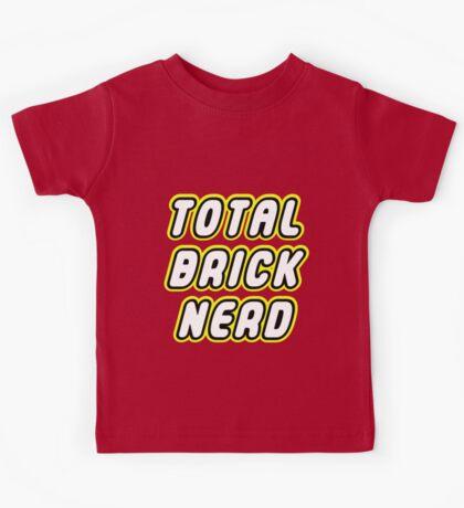 TOTAL BRICK NERD Kids Tee