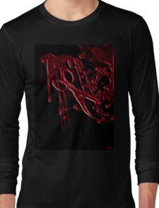 Bloody Scissors Long Sleeve T-Shirt