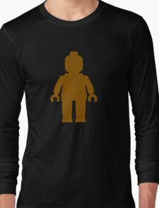 Minifig [Brown]  Long Sleeve T-Shirt