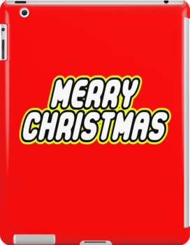 MERRY CHRISTMAS by Customize My Minifig