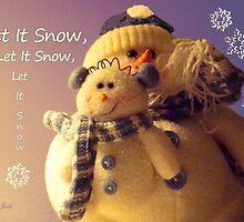 Snowman with His Snowbaby by SummerJade