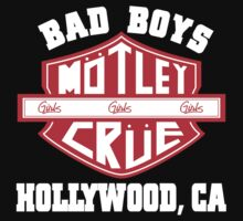 Motley Crue - Bad Boys by Space Cadet