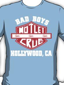 Motley Crue - Bad Boys T-Shirt
