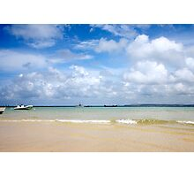 St. Ives harbour beach. Photographic Print