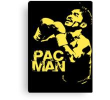 Pac Man Canvas Print
