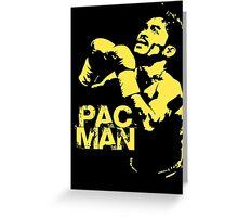 Pac Man Greeting Card