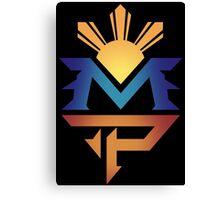 manny pacquiao Pac Man Sun Canvas Print