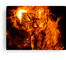 The Chariot of Fire Canvas Print