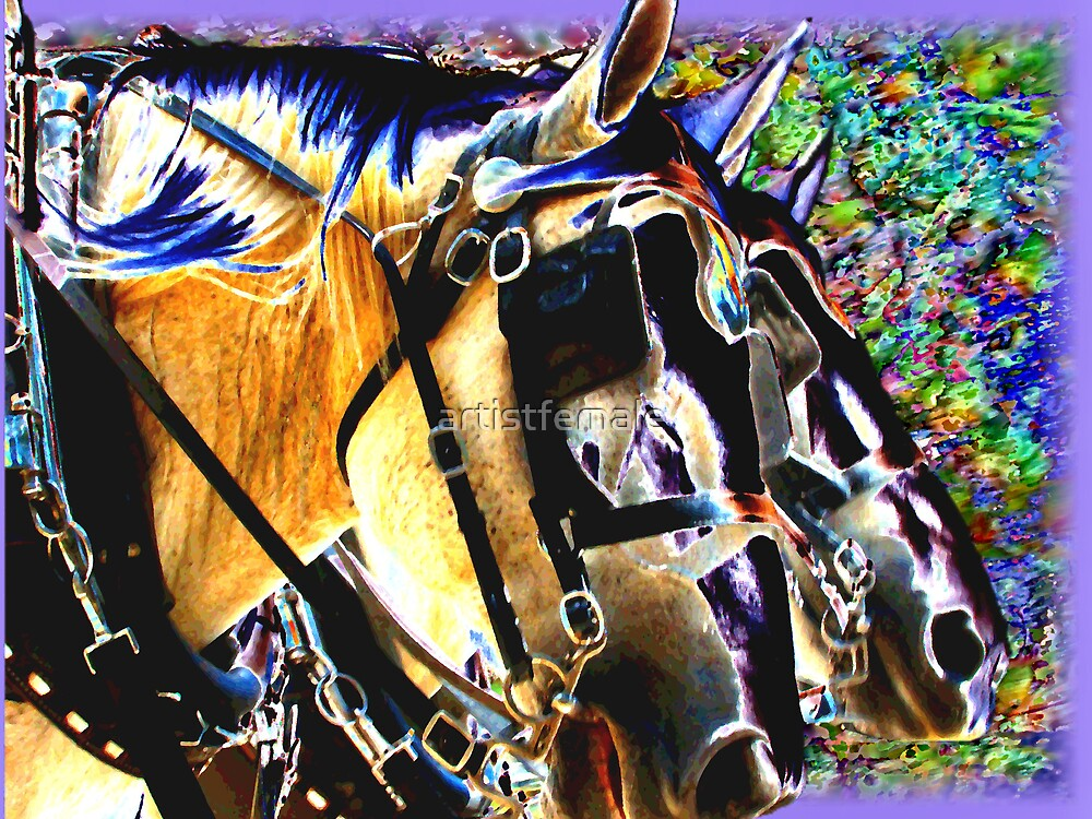 Reins On My Parade by artistfemale