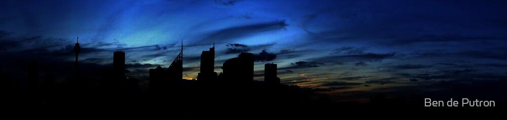 Sunset in the City by Ben de Putron