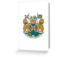 Halifax Coat of Arms  Greeting Card