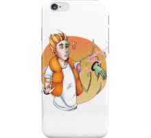 I don't //want// to disappear iPhone Case/Skin