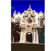 Building in Balboa Park Photographic Print