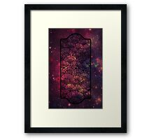 The Gate To Planet Flora Framed Print