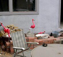 Flamingo Abode by heatherrinne