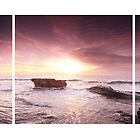 Sunset At Tanah Lot by MD81
