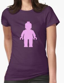 Minifig [Light Pink] Womens Fitted T-Shirt