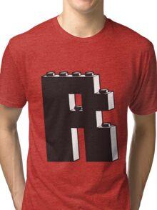 THE LETTER R Tri-blend T-Shirt