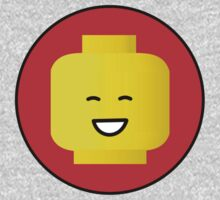 MINIFIG HAPPY FACE One Piece - Short Sleeve