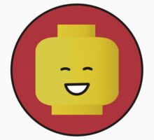 MINIFIG HAPPY FACE Baby Tee