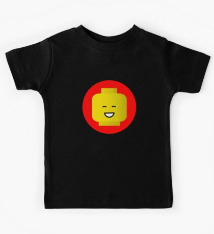 MINIFIG HAPPY FACE Kids Tee