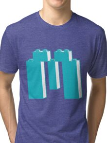 THE LETTER M, by Customize My Minifig Tri-blend T-Shirt
