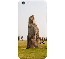 Ale stenar - Ale's stones in Sweden iPhone Case/Skin