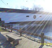 Covered bridge by thethreeamigos777