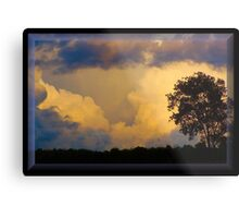 Stormy September Metal Print