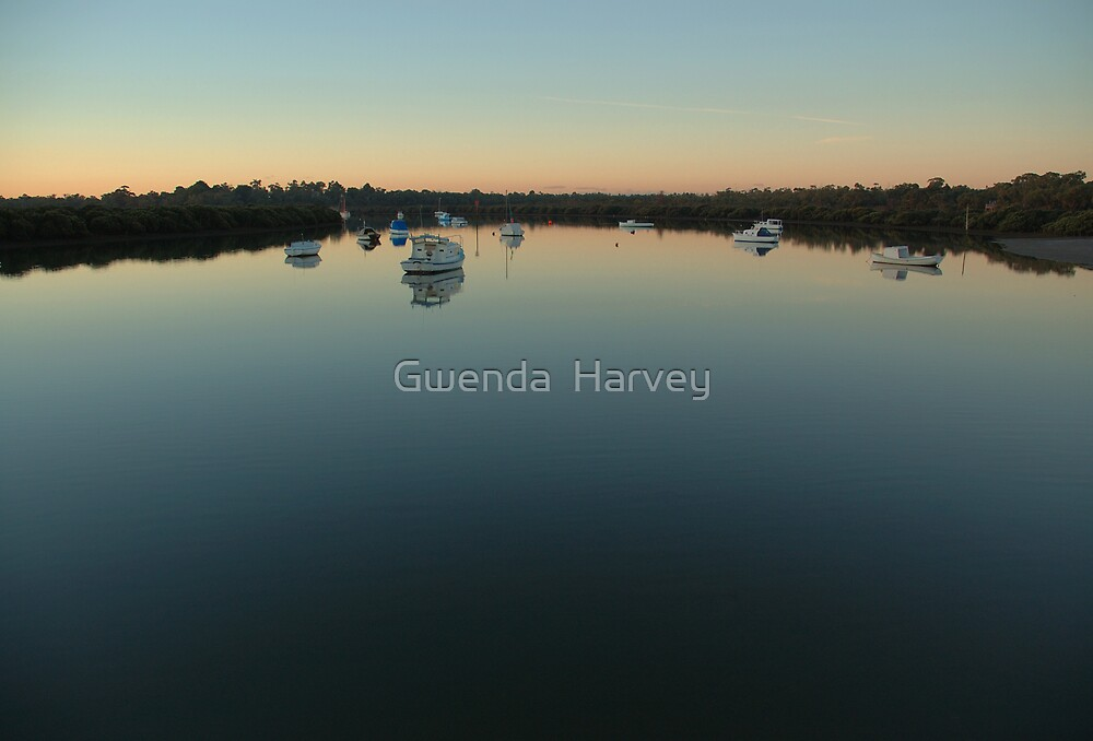 Calm Waters by Gwenda  Harvey