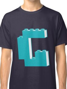 THE LETTER G, by Customize My Minifig Classic T-Shirt