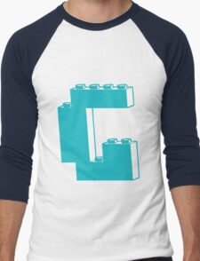 THE LETTER G, by Customize My Minifig Men's Baseball ¾ T-Shirt