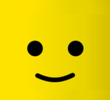 MINIFIG HAPPY FACE Sticker
