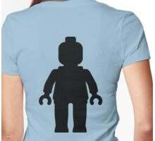 Minifig [Large Black] Womens Fitted T-Shirt