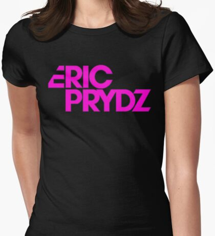 Eric Prydz purple Womens Fitted T-Shirt