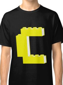 THE LETTER C, by Customize My Minifig Classic T-Shirt