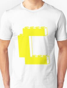 THE LETTER C, by Customize My Minifig Unisex T-Shirt