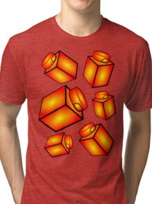 1 x 1 Bricks (AKA Falling Bricks) Tri-blend T-Shirt
