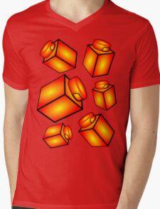 1 x 1 Bricks (AKA Falling Bricks) Mens V-Neck T-Shirt