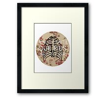 Laugh Until Our Ribs Get Tough Framed Print